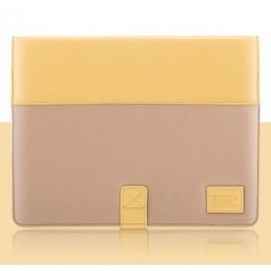 Чехол More Pastel Collection для Apple iPad 3 / iPad 4 / iPad 2 - Yellow/Dark Beige