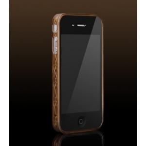 Бампер More Trinity Polymer Jelly Ring для iPhone 4 - коричневый