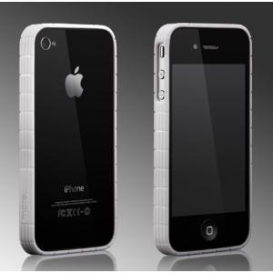 Бампер More Tyre Polymer Jelly Ring для iPhone 4/4S - белый