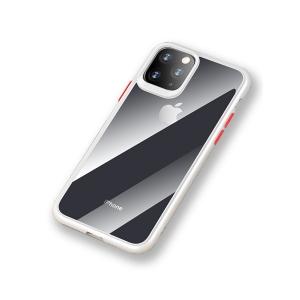 Чехол накаладка Rock Guard Pro Protection Case для Apple iPhone 11 Pro Max, прозрачный белый