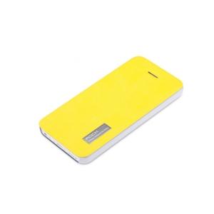 Чехол ROCK Elegant Series для Apple iPhone 5/5S / iPhone SE - лимонный