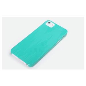 Пластиковый чехол Rock для Apple iPhone 5/5S / iPhone SE - голубой