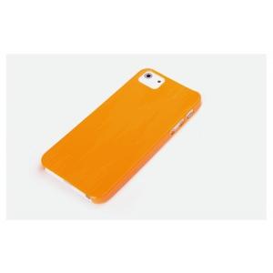 Пластиковый чехол Rock для Apple iPhone 5/5S / iPhone SE - оранжевый