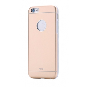 """Металлический чехол Rock Origin для Apple iPhone 6/6S (4.7"""") - розово-золотистый"""