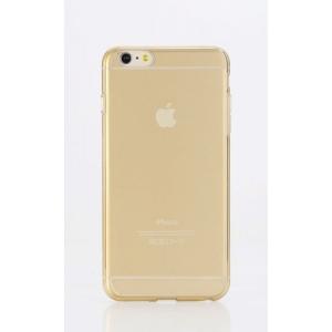 """Силиконовый чехол Rock Slim Jacket для Apple iPhone 6/6S (4.7"""") - золотистый"""