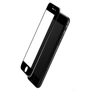 Защитное стекло на экран Rock tempered glass full screen 2.5D 0.3mm для iPhone 8/7 - цвет чёрный