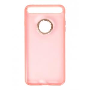 Чехол накладка с кольцом Rock Space Ring Holder Case для Apple iPhone 7 Plus/8 Plus, розовый