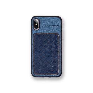 Чехол накладка Rock Origin Series для Apple iPhone Xs Max, темно-голубой