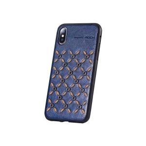 Чехол накладка Rock Origin Series для Apple iPhone Xs Max, темно-синий