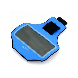 """Спортивный чехол на руку Rock Slim Sports Armband 4,8"""", синий"""