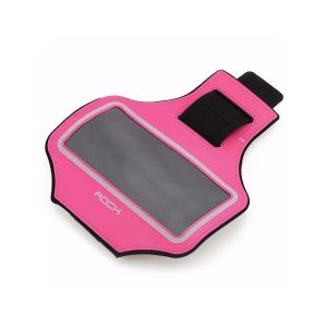 "Спортивный чехол на руку Rock Slim Sports Armband 4,8"", розовый"