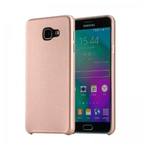 Чехол накладка Rock Touch Series для Samsung Galaxy A7 (2016) - розово-золотистый