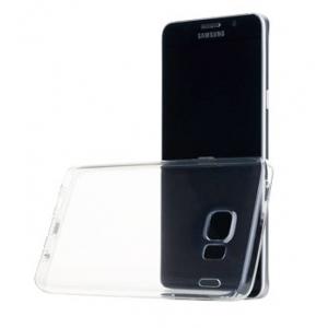 Силиконовый чехол Rock Slim Jacket для Samsung Galaxy Note 5 - прозрачный