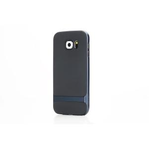 Силиконовый чехол Rock Royce Series для Samsung Galaxy S7 edge - темно-синий