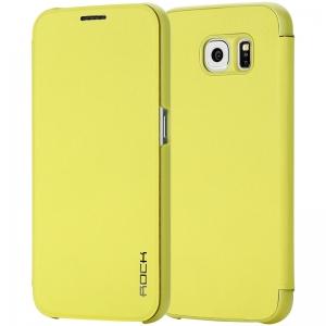 Чехол Rock Touch Series для Samsung Galaxy S6 - желтый