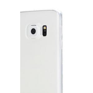 Силиконовый чехол Rock Slim Jacket для Samsung Galaxy S6 edge + - прозрачный