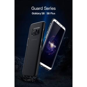 Силиконовый противоударный TPU-TPE чехол Rock Guard Series для Samsung Galaxy S8 - прозрачно-черный