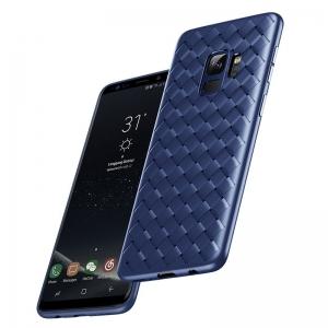 Чехол накладка Rock protective Case для Samsung Galaxy S9 - синий