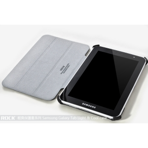 "Чехол ROCK Texture series для Samsung Galaxy Tab 2 7.0"" Plus P3100 - черный"