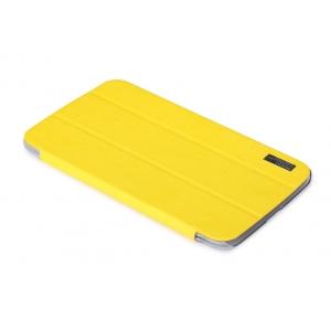 """Чехол ROCK Elegant Series для Samsung Galaxy Tab 3 8.0"""" T3100 / T3110 - лимонный"""