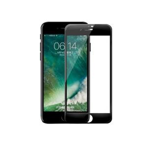 Стекло защитное на экран 3D Curved Tempered Glass Screen Protector с мягкими краями 0.23 мм для iPhone 7 Plus/8 Plus, черный