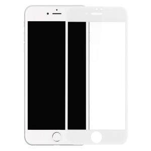 Защитное стекло на экран Rock space tempered glass with Soft Edge 3D для iPhone 8 Plus/7 Plus - цвет белый