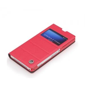 Чехол ROCK Excel Series для Sony Xperia Z1 Compact M51w / Z1 Mini D5503 - розовый