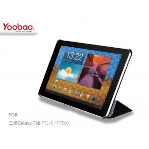 """Кожаный чехол Yoobao Leather Case SBK для Samsung Galaxy Tab 10.1"""" P7500 / P7510 - чёрный"""