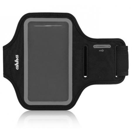 Спортивный чехол на руку Ahha Fitness Armband Tyler 133A 133 х 70 х 10 - черно-серый