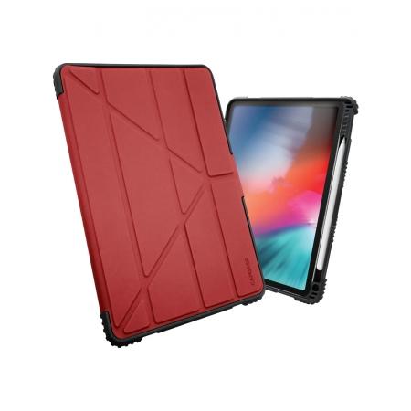 Противоударный чехол Capdase BUMPER FOLIO Flip Case для iPad 9.7 2017/iPad 9.7 2018, красный
