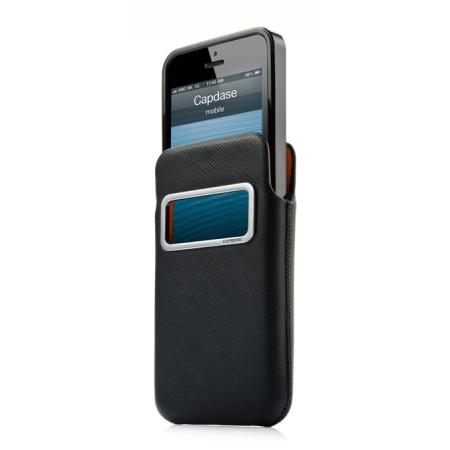 Комплект чехлов CAPDASE для Apple iPhone 5/5S / iPhone SE id Pocket Value Set LUXE XL - черный