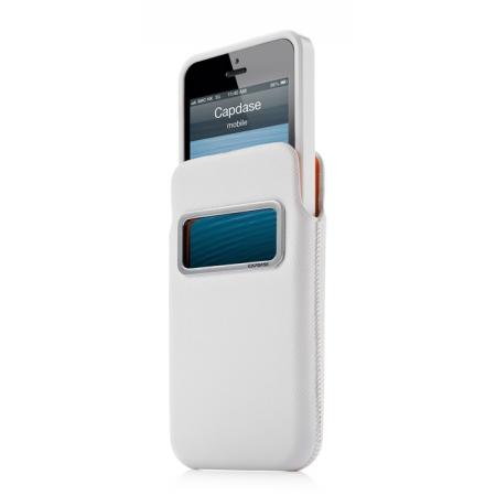 Комплект чехлов CAPDASE для Apple iPhone 5/5S / iPhone SE id Pocket Value Set LUXE XL - белый