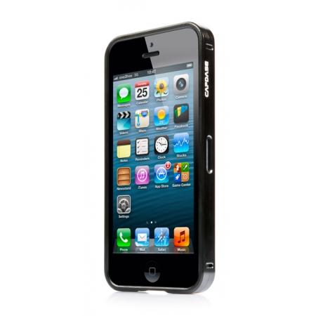 Металлический бампер Capdase Alumor Bumper для Apple iPhone 5/5S / iPhone SE - черный