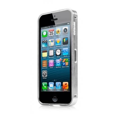 Металлический бампер Capdase Alumor Bumper для Apple iPhone 5/5S / iPhone SE - серебристый