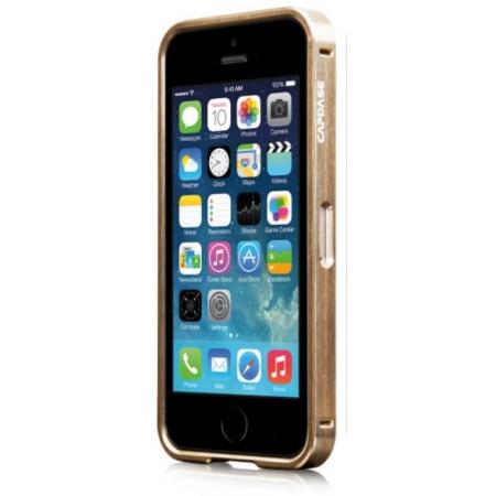 Металлический бампер Capdase Alumor Bumper для Apple iPhone 5/5S / iPhone SE - золотой