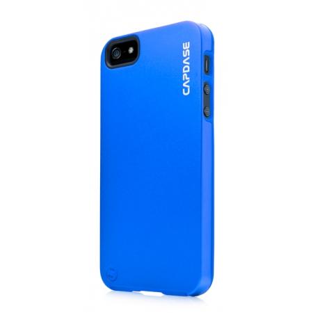 Металлический чехол CAPDASE Alumor Jacket для Apple iPhone 5/5S / iPhone SE - синий