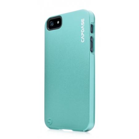 Металлический чехол CAPDASE Alumor Jacket для Apple iPhone 5/5S / iPhone SE - голубой