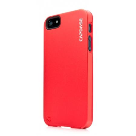 Металлический чехол CAPDASE Alumor Jacket для Apple iPhone 5/5S / iPhone SE - красный