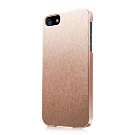 Пластиковый чехол CAPDASE Karapase Jacket SILVA SATIN для Apple iPhone 5/5S / iPhone SE - золотой