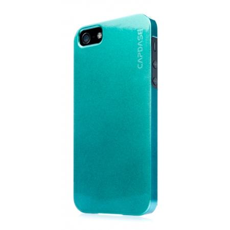 Перламутровый пластиковый чехол CAPDASE Karapase Jacket для Apple iPhone 5/5S / iPhone SE - Pearl Black