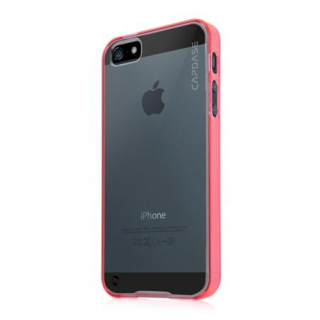 Силиконовый чехол CAPDASE Soft Jacket Fuze DS для Apple iPhone 5/5S / iPhone SE - красный