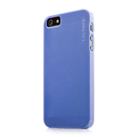 Силиконовый ультратонкий чехол CAPDASE Soft Jacket LAMINA для Apple iPhone 5/5S / iPhone SE - синий