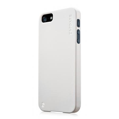 Силиконовый чехол с блестками CAPDASE Soft Jacket SPARKO для Apple iPhone 5/5S / iPhone SE - белый