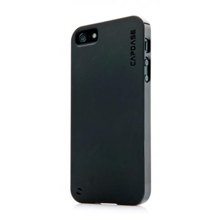 Силиконовый чехол CAPDASE Soft Jacket Xpose for Apple iPhone 5/5S / iPhone SE - черный
