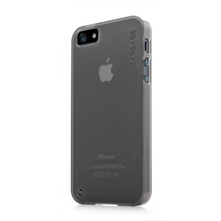 Силиконовый чехол CAPDASE Soft Jacket Xpose for Apple iPhone 5/5S / iPhone SE - темно-серый