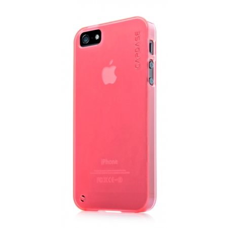Силиконовый чехол CAPDASE Soft Jacket Xpose for Apple iPhone 5/5S / iPhone SE - красный