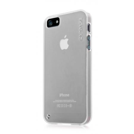 Силиконовый чехол CAPDASE Soft Jacket Xpose for Apple iPhone 5/5S / iPhone SE - белый