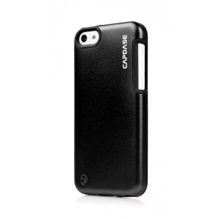 Металлический чехол Capdase Alumor Jacket Sider Elli для Apple iPhone 5C - черный