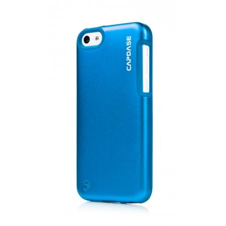 Металлический чехол Capdase Alumor Jacket Sider Elli для Apple iPhone 5C - синий