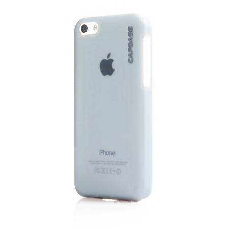 Пластиковый чехол Capdase KJ Finne DS для Apple iPhone 5C - серый